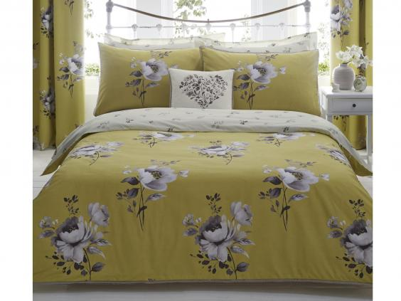 dunelm mill liana ochre quilt cover set from 18 dunelm