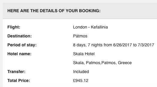 Sells package holidays 39 to kefalonia 39 with for List of independent hotels