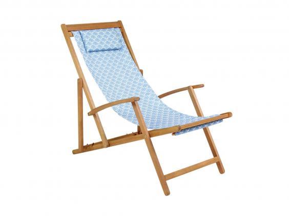 charles bentley coastal deck chair buydirect4u
