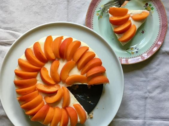 How To Make No Bake Apricot Cheesecake The Independent
