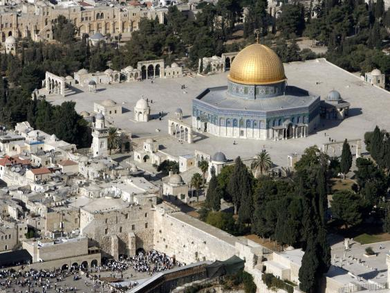 Risultati immagini per Terror attack on Jerusalem's Temple Mount, 2 Israeli police killed