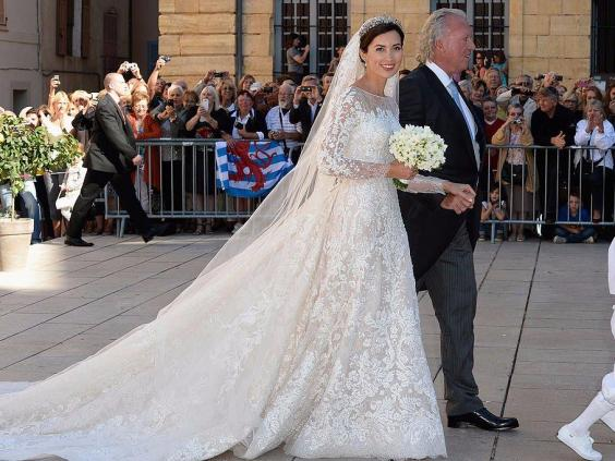 15 photos that show what royal wedding dresses look like around