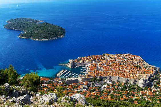 Южная далмация хорватия