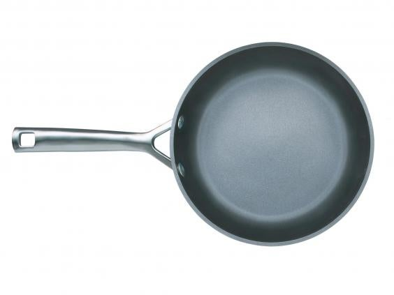 le creuset toughened nonstick shallow frying pan 24cm 76 john lewis - Non Stick Frying Pan