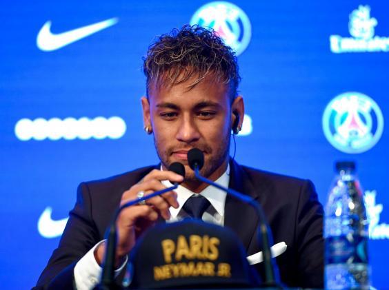 neymar,psg,presser