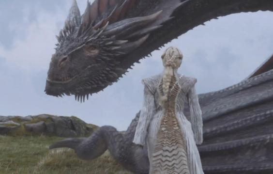 Game Of Thrones Season 7 Episode 6 Daenerys New Snow