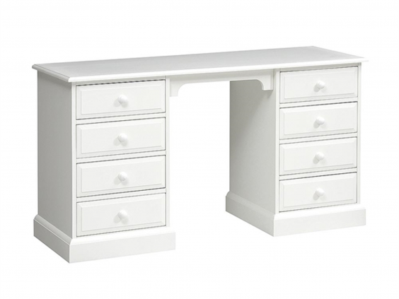 burford painted double pedestal dressing table 299 cotswold co