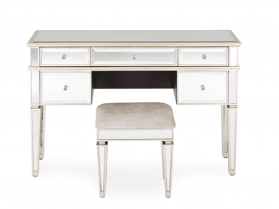 A Good Dressing Table Gets You In The Spirit For Glamming Up, And Nextu0027s  Version Does So In High Style. Mirrored Surfaces With Bevelled Edges, ...
