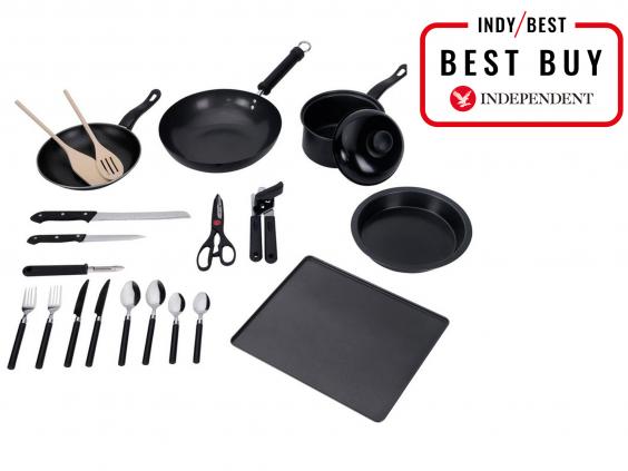 Attractive Argos Simple Value 20 Piece Kitchen Essentials Starter Set: £20.99, Argos