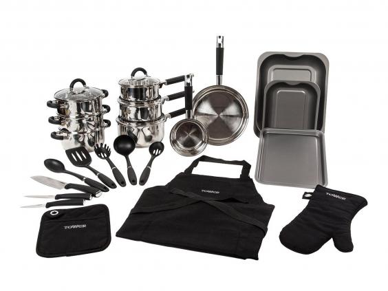9 best kitchen starter sets for students the independent for Kuchen starterset