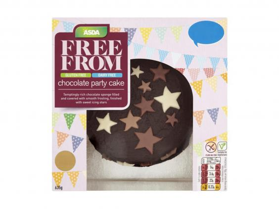 Asda Personalised Birthday Cakes In Store ~ Best gluten free birthday cakes the independent