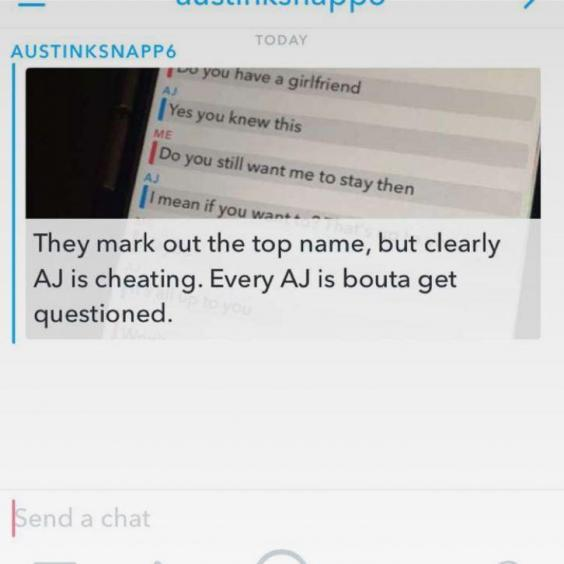 Catch her cheating snapchat