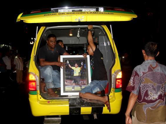 INDONESIA football dead зурган илэрцүүд