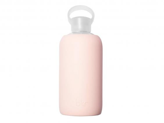bkr designs fashionable water bottles that are ideal for the office this simple pale pink design is our favourite but there are other colours and styles