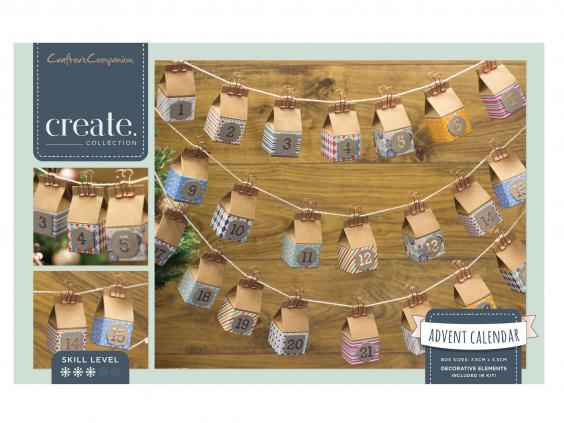 10 best diy advent calendars the independent crafters companion create your own advent calendar kit 1499 john lewis solutioingenieria Images