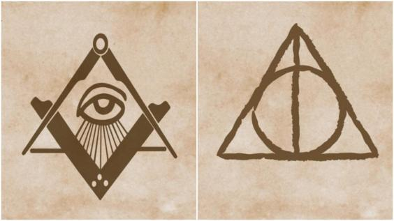 Jk Rowling Reveals The Heartbreaking Inspiration For The Deathly Hallows Symbol In Harry Potter