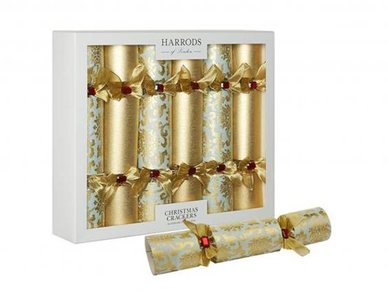 10 best christmas crackers the independent harrods of london tudor rose crackers 110 for 6 harrods solutioingenieria Choice Image