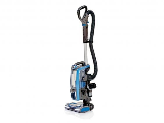 this upright bagless vacuum cleaner will leave your carpets and wooden floors spotless and itu0027s good on upholstery and stairs although laminate floors