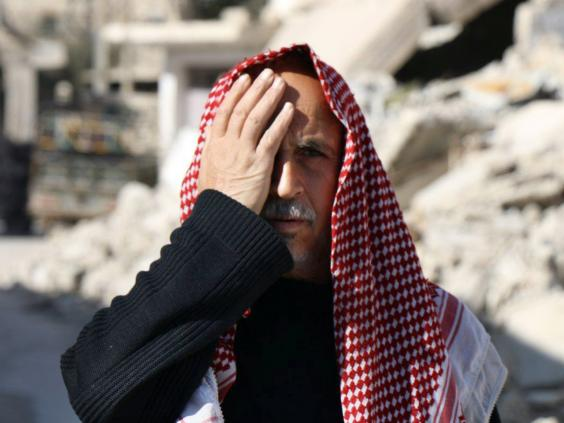 Syrians Are Covering One Eye In Symbol Of Resistance After