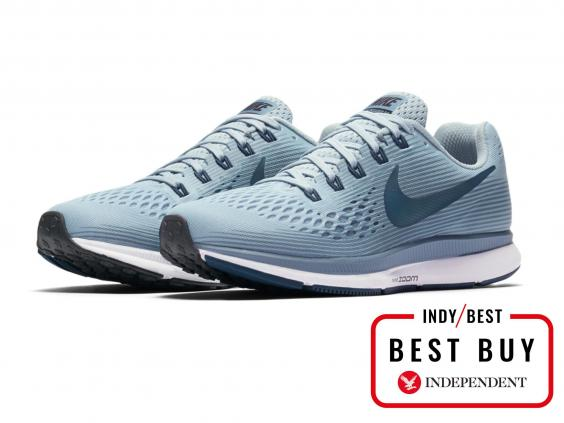 Whether you're training for your first 5k event or a marathon, this pair  from Nike will help you run for miles. Aside from the on-trend design, ...