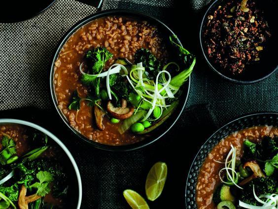 Asian vegetarian cookbook