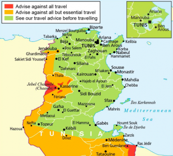Tunisia Holidays When Is Thomas Cook Launching Return And Is It - Where is tunisia