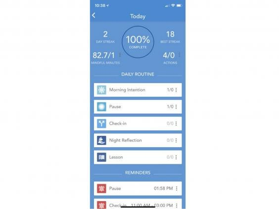 10 best mindfulness apps the independent mindfulness daily free ios fandeluxe Images
