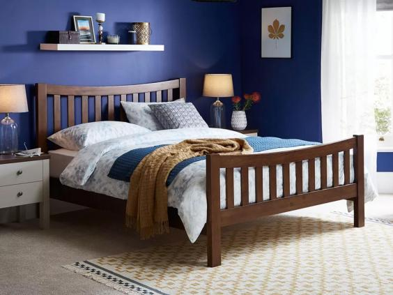 Dreams Sherwood Dark Wooden Bed Frame From GBP399