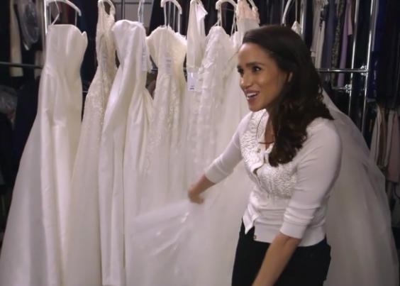Bets On Meghan Markle's Wedding Dress Designer Suspended