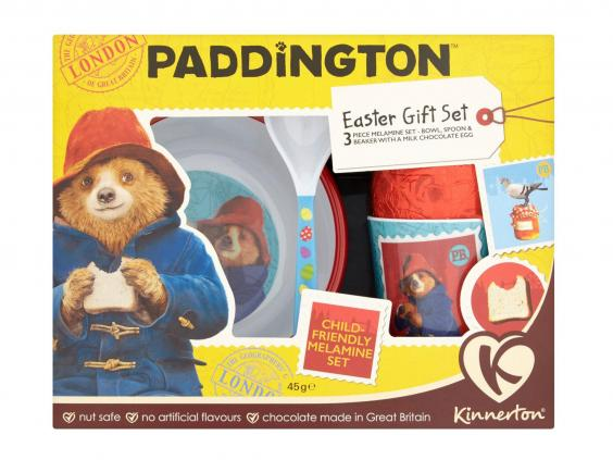 15 best kids easter eggs the independent kinnerton paddington easter gift set 45g 5 ocado negle Images