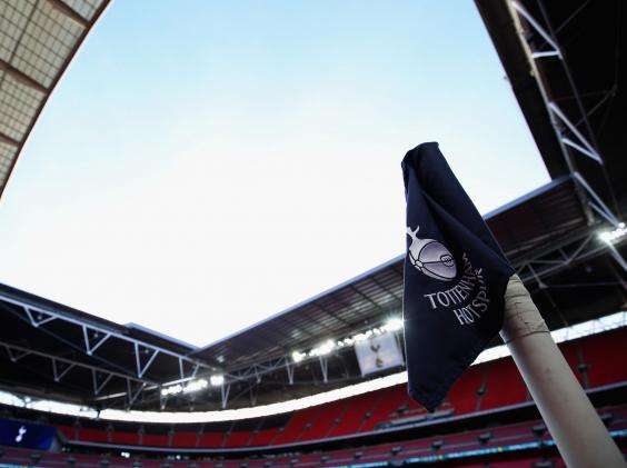 "tottenham-wembley-general.jpg ""title ="" tottenham-wembley-general.jpg ""/> </div> <p><!-- END scald=6128351 --></div> <p>  Tottenham played their home games at Wembley this season (Getty) </p><div><script async src="
