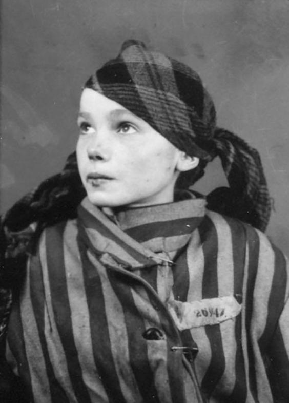 these restored images of a young auschwitz prisoner are a