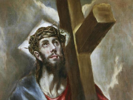 "christ-el-greco.jpg ""title ="" christ-el-greco.jpg ""/> </div> <p><!-- END scald=6162741 --></div> <p>  Christ bears the cross of El Greco (Alfredo <span class="