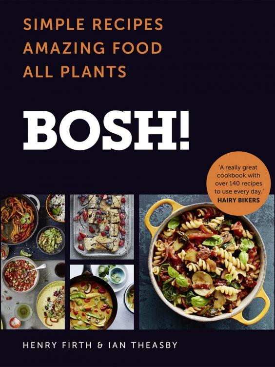 Vegan Cookbook Cover ~ Bosh vegan cookbook recipes from cauliflower buffalo