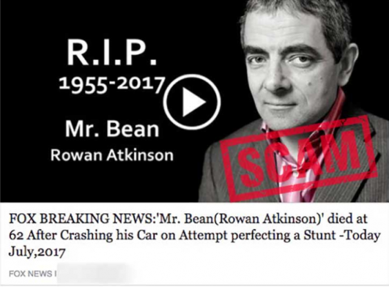 rowan atkinson scammers are faking mr bean actor s death to steal