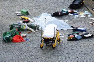 Policeman dies after being stabbed outside Parliament