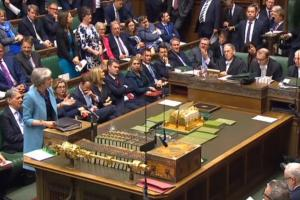 may risks consutional crisis after scots rejection of brexit bill
