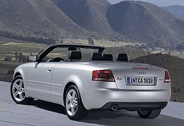 Audi A Convertible Roofless Efficiency The Independent - Audi a4 convertible