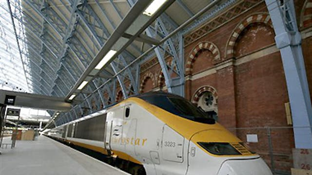 Where to get off? The new Eurostar schedules from St Pancras station in London begin operating on 15 November