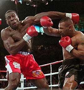 Frank Bruno vs. Mike Tyson II