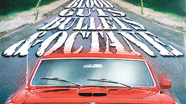 The 1963 Pontica GTO featured in the determinedly non-PC 1998 thriller Blood, Guts, Bullets and Octane