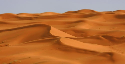 Libya From Desert To Oasis The Independent