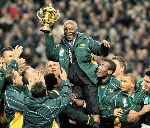 aa8833b3c2b Symbol of unity: the Springbok vs the Protea | The Independent