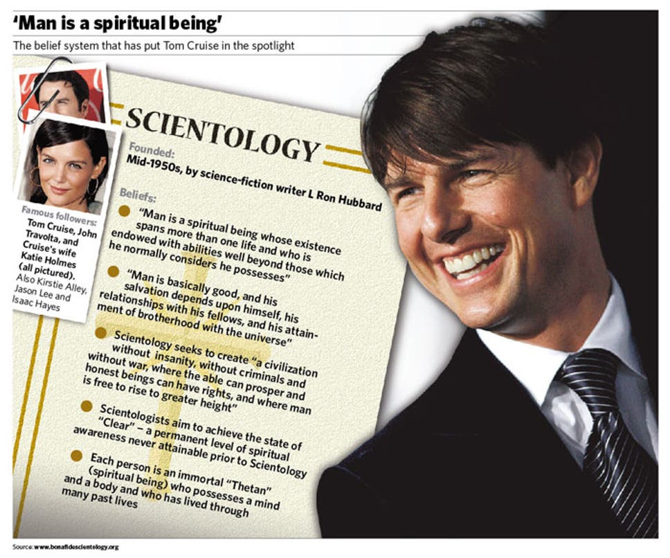the big question what is scientology and why have tom cruise s