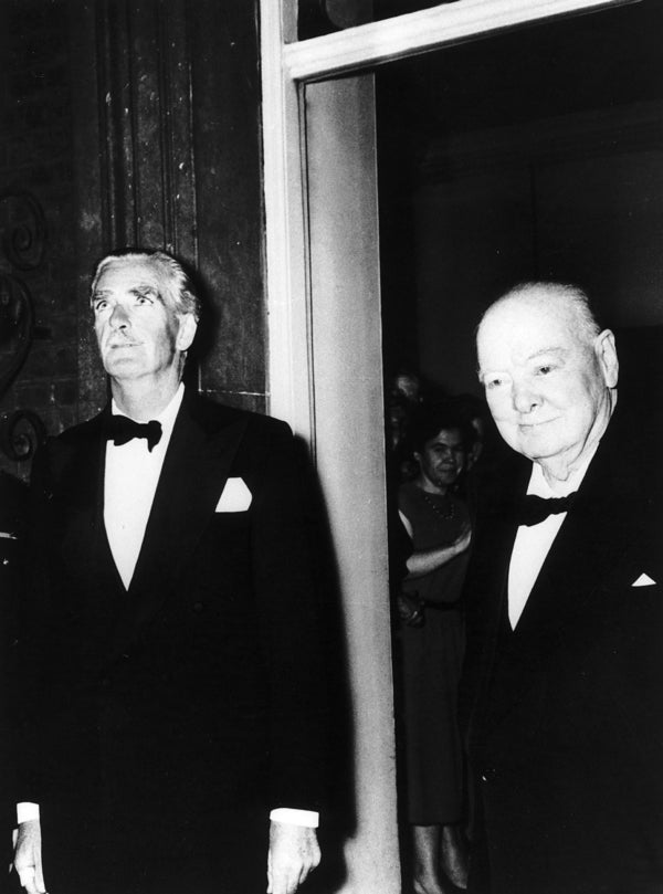 Image result for photo of churchill and eden