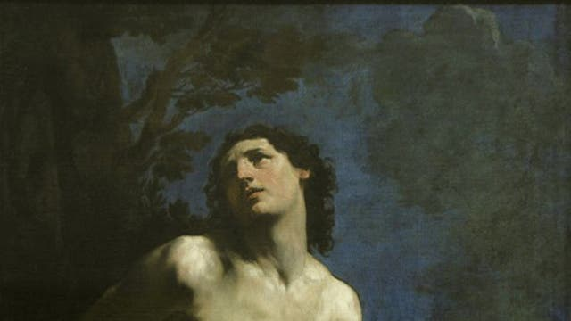 Saints alive: Six of the seven paintings from Guido Reni's St Sebastian series. Click 'more pictures' to scroll through.