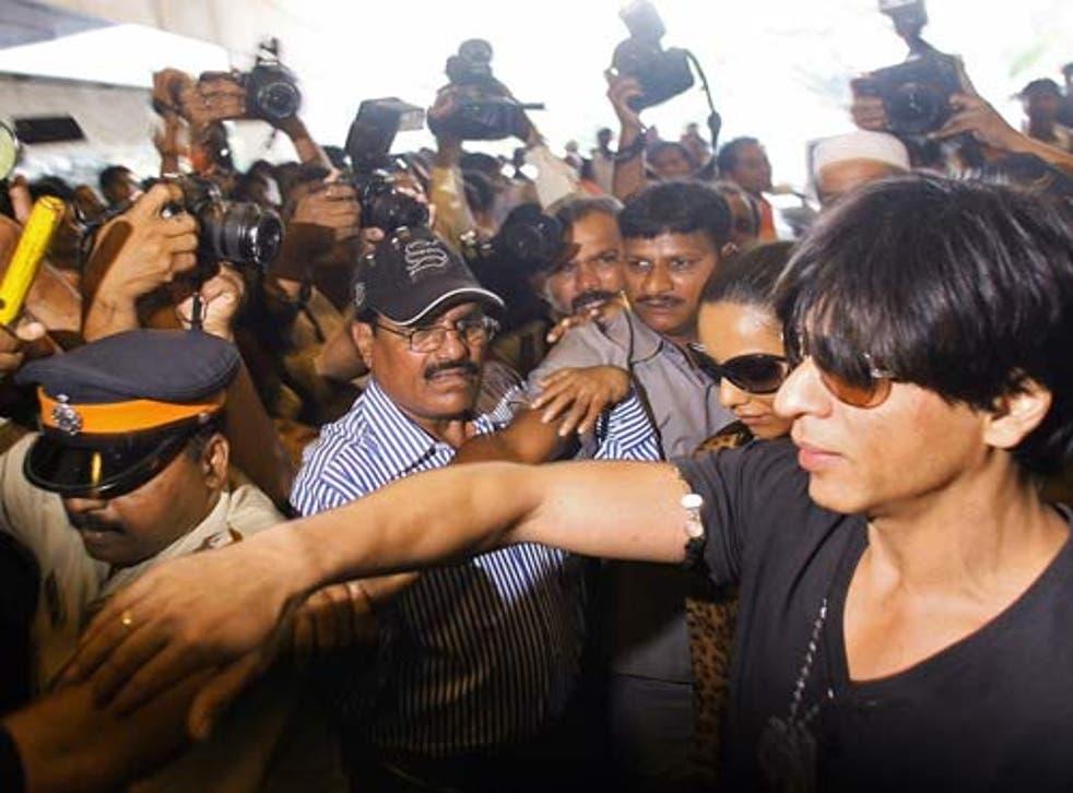 <p>File image: Indian Bollywood star Shah Rukh Khan</p>