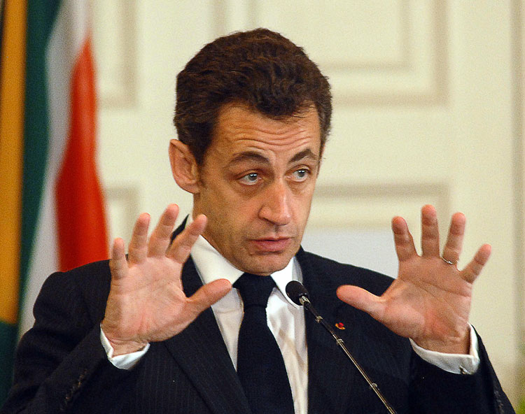 Nicolas Sarkozy's approval ratings are the lowest recorded for a year-old presidency for 50 years