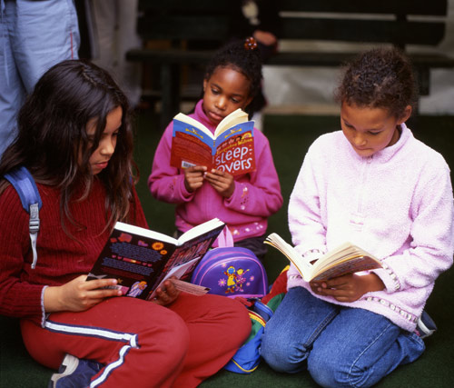 A survey shows that girls enjoy reading significantly more than boys