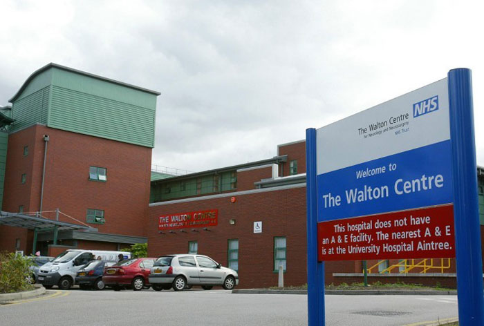 The Walton Centre for Neurology and Neurosurgery in Liverpool occupies a purpose-built facility serving 3.5 million people © PA